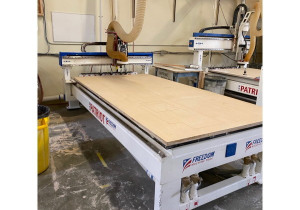 Used Freedom Patriot Fmt-F37-5-10-7, 5′ X 10′ 3 Axis Cnc Router, New In 2015