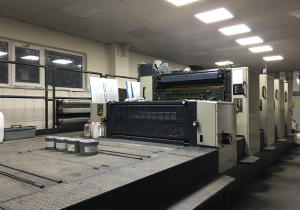 Komori Lithrone 40 70x100 4 Colors