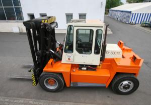KALMAR 10-600XL Diesel Fork Lift Truck