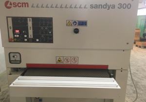 Wide belt sanding machine