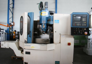 AXA CB-O - Vertical 4-Axis Machining Center