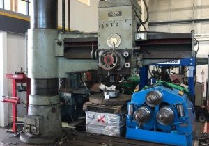 Csepel Model Rfh 75/1750 Radial Arm Drill