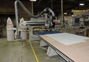 Used Komo Vr512 3 Axis Cnc Router, 5′ X 12′ Table, New In 2006