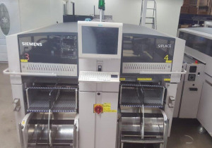 Siemens ASM Siplace X2 Placement Machine with MTC-2 Tray Unit (2008)