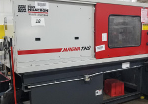 Used 310 Ton Cincinnati Milacron Mt310Wp41 Injection Molding Machine