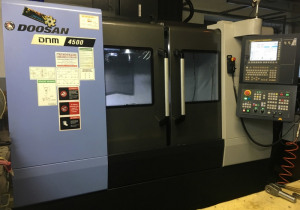 Cnc Machining Center Doosan Dnm 4500
