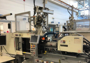 Used 40 Ton Nissei Pnx40-2A Hybrid Injection Molding Machine