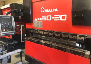 Cnc Press Brake Amada Hfe 5020, 2000 Year