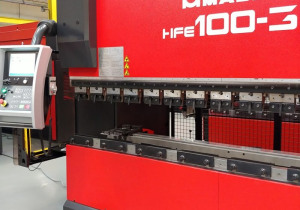 Cnc Press Brake Amada Hfe 100-3, 2007 Year