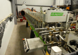 Used Düspohl Xpress 400 R Board Gluing Machine