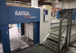 KBA Rapida 105 5 L PWVA ALV2