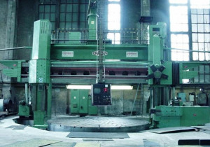 "196"" Craven Cnc Vertical Boring Mill, 220"" Swing, 108"" H/Ur, Heidenhain Tnc 155"