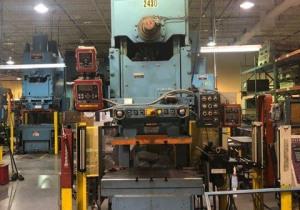 120 Ton Niagara Model E-110-S Gap Frame Press