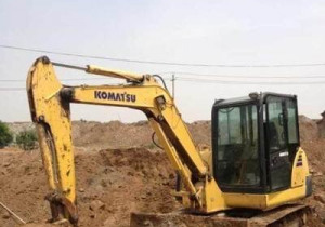 Used Komatsu excavator PC120-6 For Sell