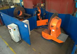 Welding robot CARL CLOOS QRC 410 E