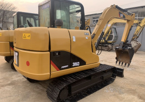 used mini digger japan cat 306 second hand  construction machinery  excavator  for sale