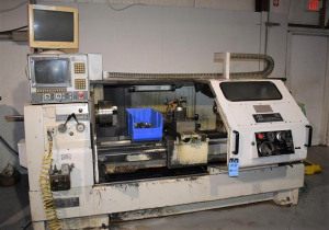 "20″ X 60″ Milltronics ""Partner Ml-20"" 2-Axis Combination Manual/Cnc Lathe"