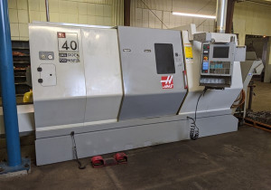 Sl-40T Haas Cnc Turning Center