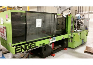 Engel 150-Ton 2-Material Plastic Injection Molding Machine 1999