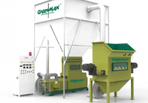 Recycling Machine of GREENMAX Styrofoam Densifier M-C300 on Sale