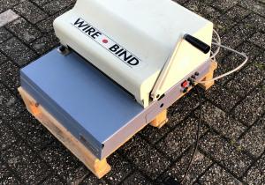 Rilecart  FP340  Wire-O punch & closing machine