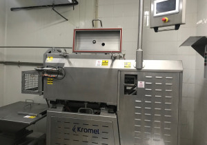 KROMEL Cheese Steam Cooking, Stretching, Moulding and Transfering  Equipment