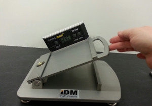 Manual incline COF Tester