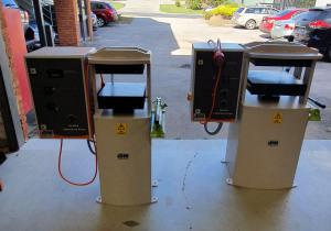 Laboratory Heated Press