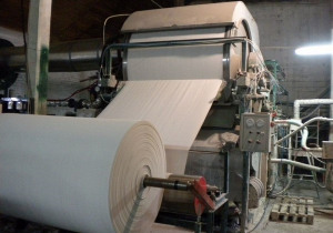 Toilet Paper Production Line With The Capacity 5 Tpd