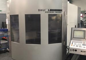 Deckel – Maho DMU 80T 5 axis machining centre