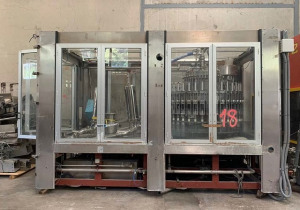 15,000 Bottles / Hour Filling Plant For 0.35, 1.5 And 6 Litre Formats