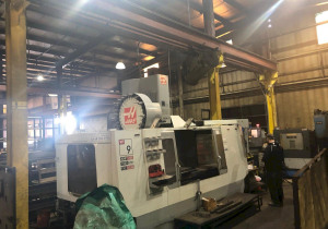 Haas Vf-9 Cnc Vertical Machining Center