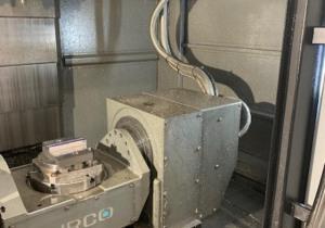 2014 Hurco VM10U-HSI 5 axis machine
