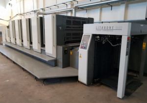 5 Color 2016 Komori Lithrone Gl-540 H-Uv