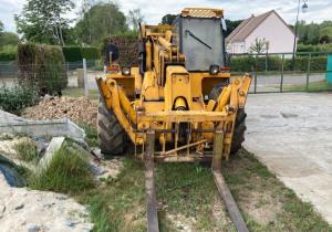 Nante JCB excavator + handler