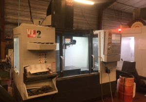 Haas VF-2 machining center