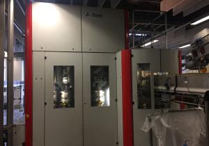 Sidel Model SBO 14 PET Reheat Stretch Blow Molding Machine