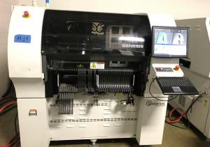 Universal Genesis GC-60 4990E Placement Machine (2009)