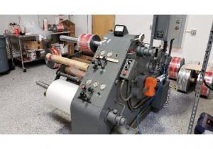 """30"""" Stanford Duplex Slitter Rewinder Model 184 20"""" Rewind Diameter"""