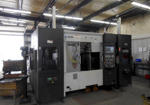 Okuma 2Sp-250Hm Twin Spindle, Twin Turret Cnc Horizontal Turning Center, With Gantry Loader, New 2015