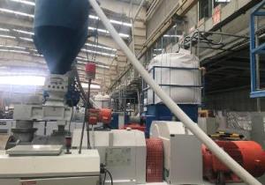 Ligne d'extrusion de tuyaux en PVC Liansu Lse80 80 mm