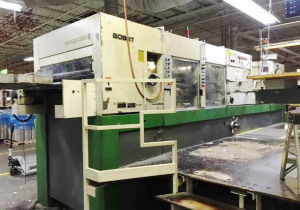 Bobst Sp 102 Cer Ii W / Stripping And Blanking