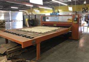 Used Haire Dc-Ii-185 100″ Wide Roller Die Cutter