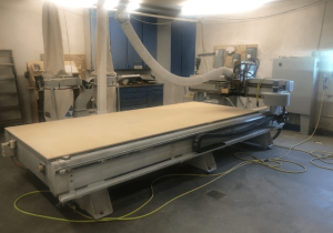Used Multicam Cnc Router 6′ X 12′ Table, New In 2002