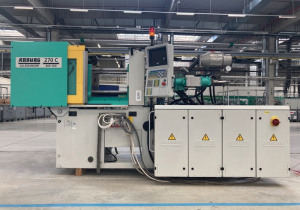 Injection Molding Machine Arburg 270 C 400-100 U
