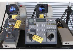 Panasonic Aw-360L Pan/Tilt Heads With Aw-He870 2/3' Hd And Aw-E860E Sd Broadcast Camera