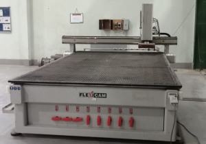 FlexiCAM Stealth II 2040/127 CNC Wood Cutting and Routing Machine