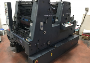 Heidelberg GTO 2 Colors 36x52