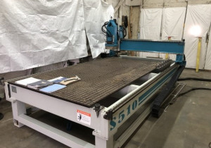 Used 2008 Anderson 3 Axis 5′ X 10′ Cnc Router