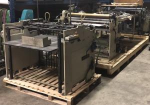 Tünkers Vorwards S 1100 Laminator - paper over board